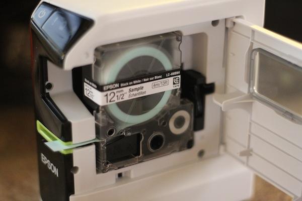 Epson LW-600P tape