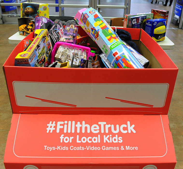 Fill A Truck 2017 Toys For Tots : Fill the truck with toys for kids in need fillthetruck