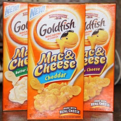 Goldfish Mac 'n Cheese from Pepperidge Farm