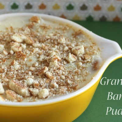 Grandma's Homemade Banana Pudding