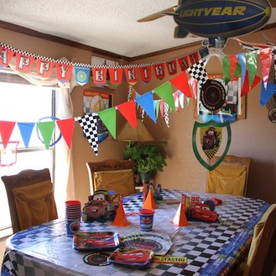 Truett's CARS Birthday Party – A Real Hallmark Moment