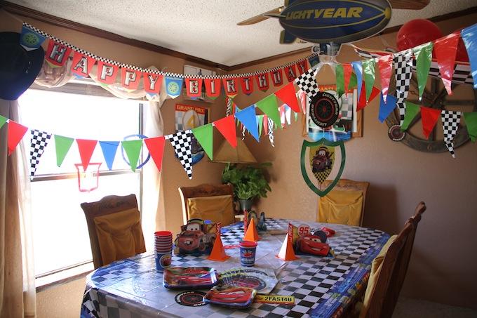 Hallmark CARS birthday party