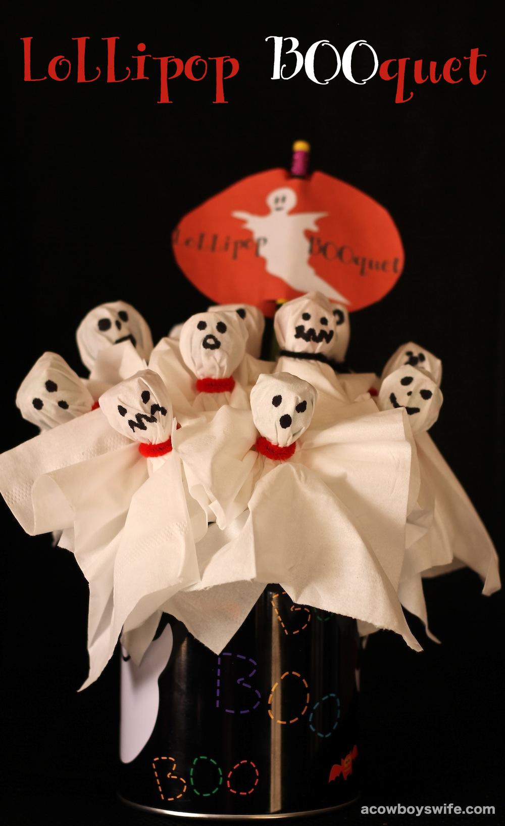 Halloween Lollipop BOOquet