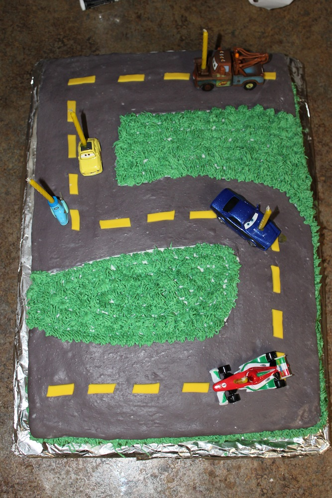 Excellent Truetts 5Th Birthday Car Cake Wilton Style A Cowboys Wife Personalised Birthday Cards Bromeletsinfo