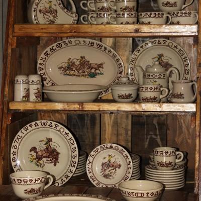 Cowboy Decor – Our Chuck-box and 'Cowboy China'