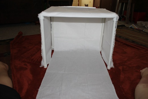 DIY: How to Make a Light-Box for Photography Using PVC Pipe