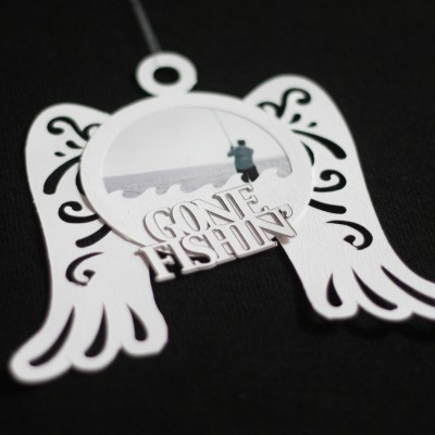 Cricut Paper Craft – Angel Wings Memorial Ornament