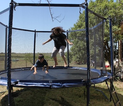 JumpSport Trampoline Review Part 1, Putting it Together