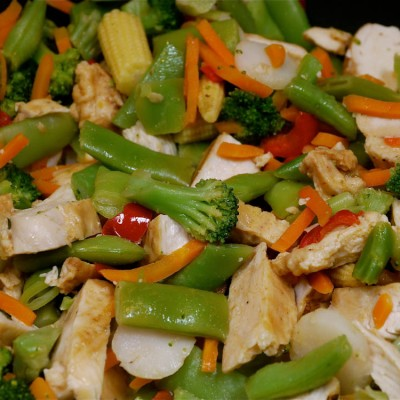 Ten Minute Chicken Stir-Fry