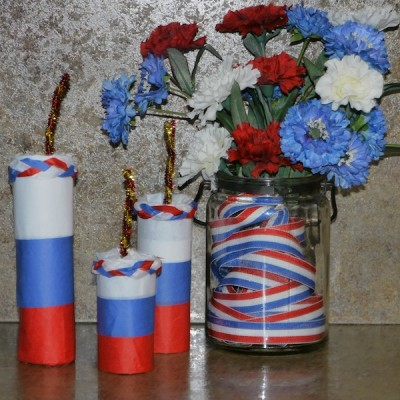 4th of July Party Favors – Candy Filled Firecrackers