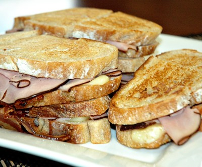 Sandwich Week – Peasant Ham and Brie Sandwich