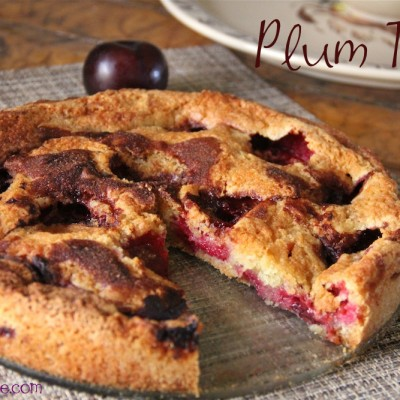 Easy Plum Torte Recipe Using Fresh Plums
