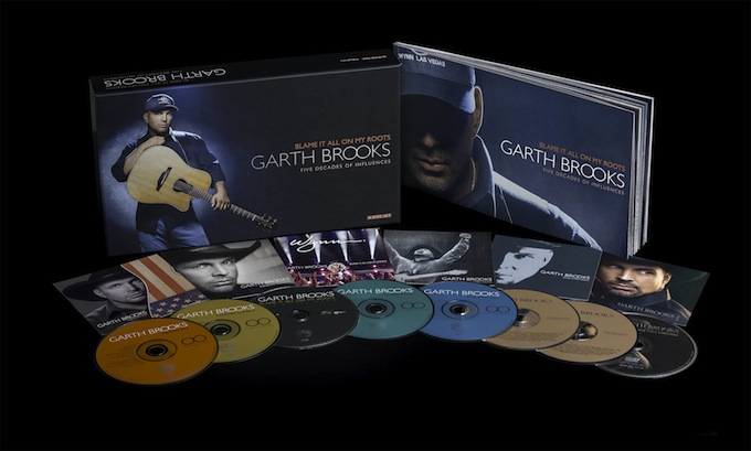 Garth Brooks Blame It On My Roots CD Box Set