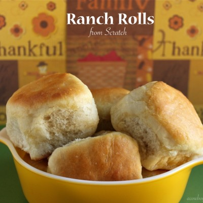 Ranch Rolls Made from Scratch