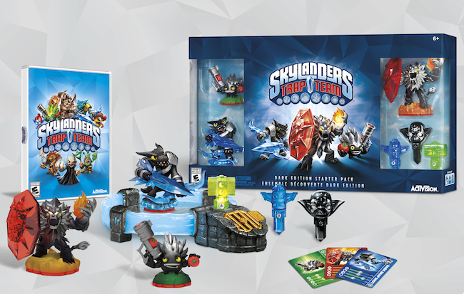 Skylanders Dark Trap Team