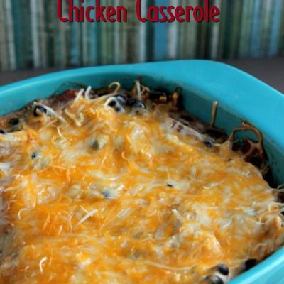 Santa Fe Chicken Casserole