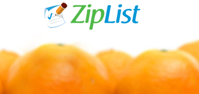 ZipList Online Recipe Box and Shopping Tool Goes Mobile