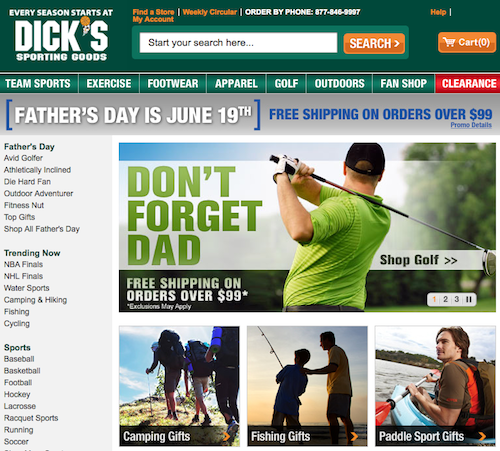 Dick's Sporting Goods $50 Gift Card {Giveaway}