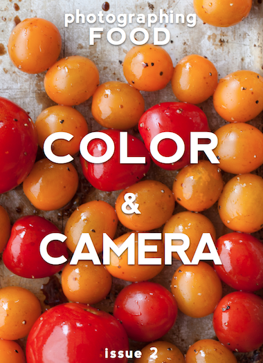 Photographing food color and camera