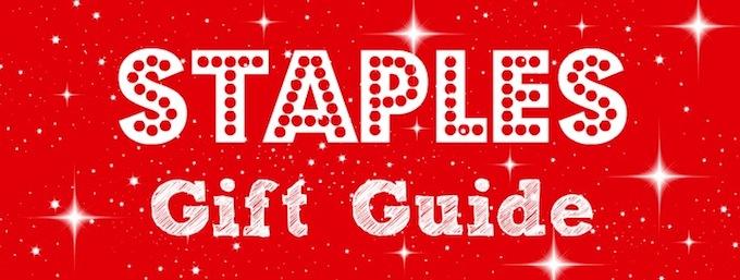 Staples Gift Guide Header