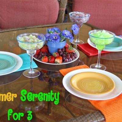 Summer Serenity for 3