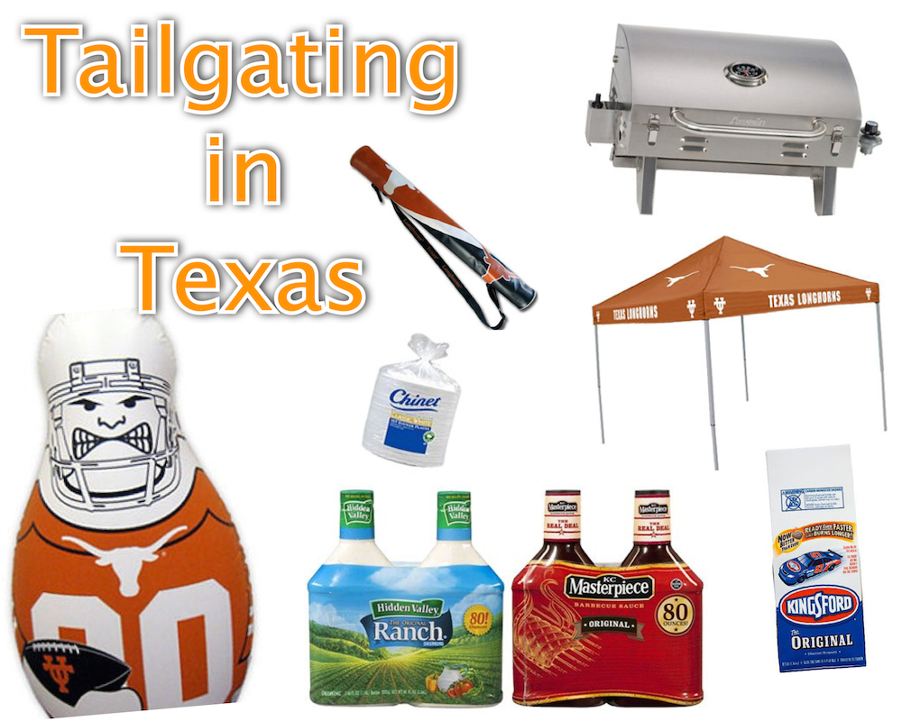 Tailgating in Texas