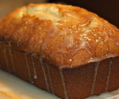Lemon Bread with a Little Glaze