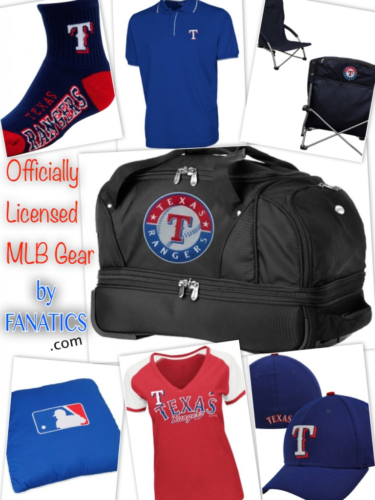 Texas Rangers MLB Gear by Fanatics