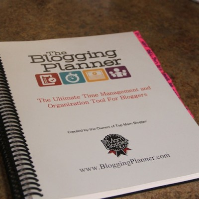 The Blogging Planner – Saved Me from Drowning  #ACWGG