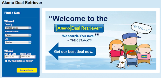 alamo deal retriever