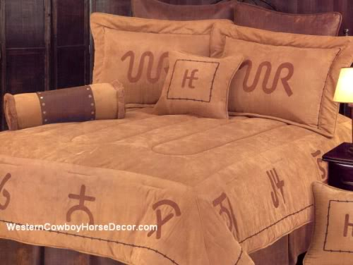 Cowboy Brands Comforter Bedding Set
