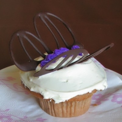 Easy to Make Butterfly Cupcakes