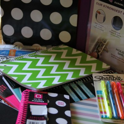 Countdown to Back to School – Supplies!