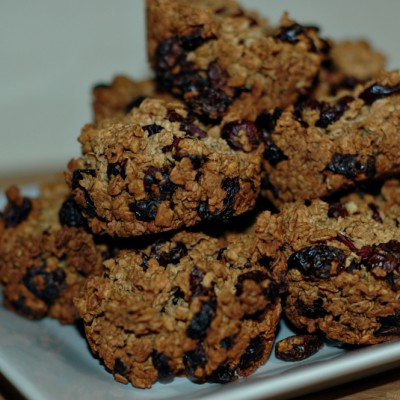 Healthy Cranberry Oatmeal Clusters