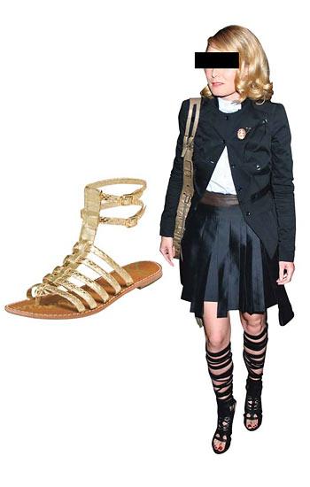 Gladiator shoes or Dominatrix?