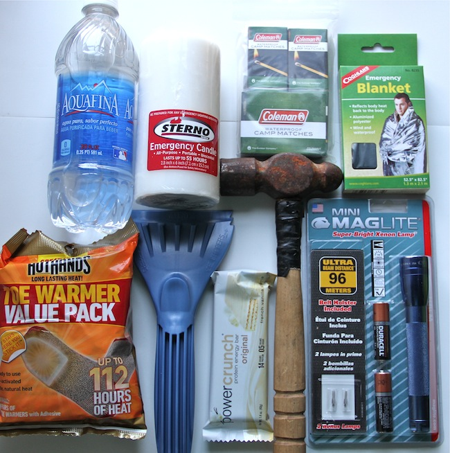 emergency items for winter
