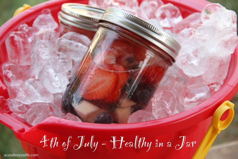 healthy in a jar