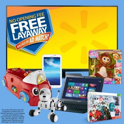 Get Early Access to Walmart Layaway!