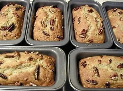Banana Nut Bread Mini Loaves Recipe