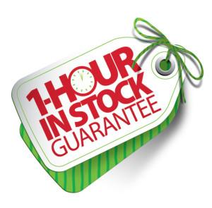 one hour guarantee