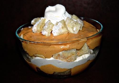 Pumpking Pudding Parfait