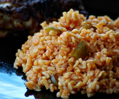 Easy Spanish Rice, the White Boy Way, in 17 Minutes