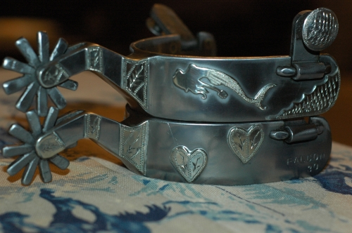 handmade cowboy spurs
