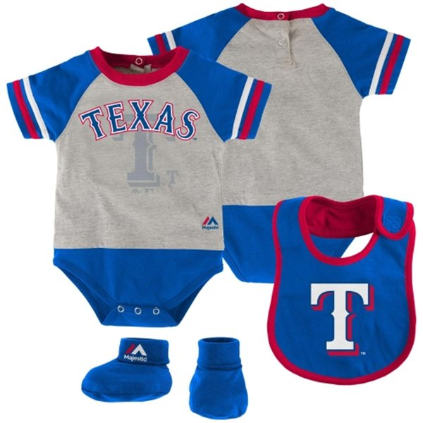 Texas Rangers infant set
