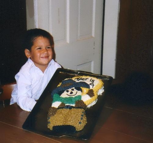 Wilton Cowboy Cake