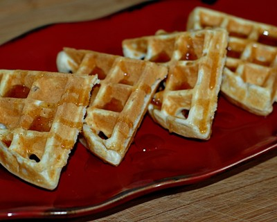 Old Fashioned Waffles from Scratch